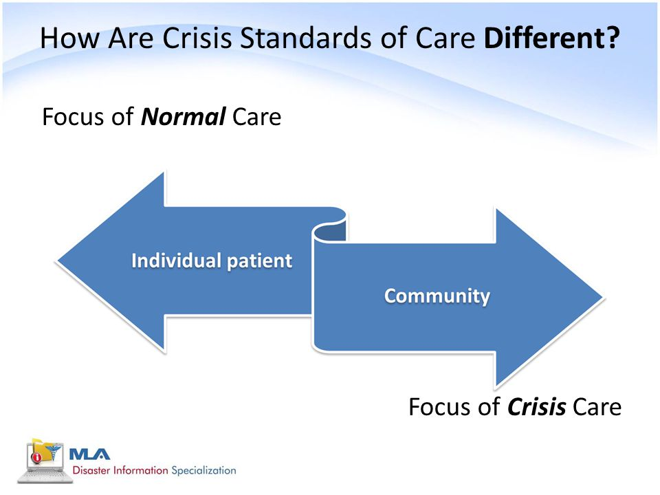 How Are Crisis Standards of Care Different