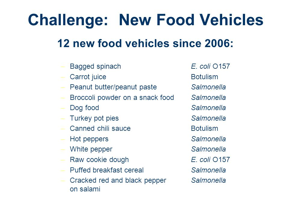 Challenge: New Food Vehicles
