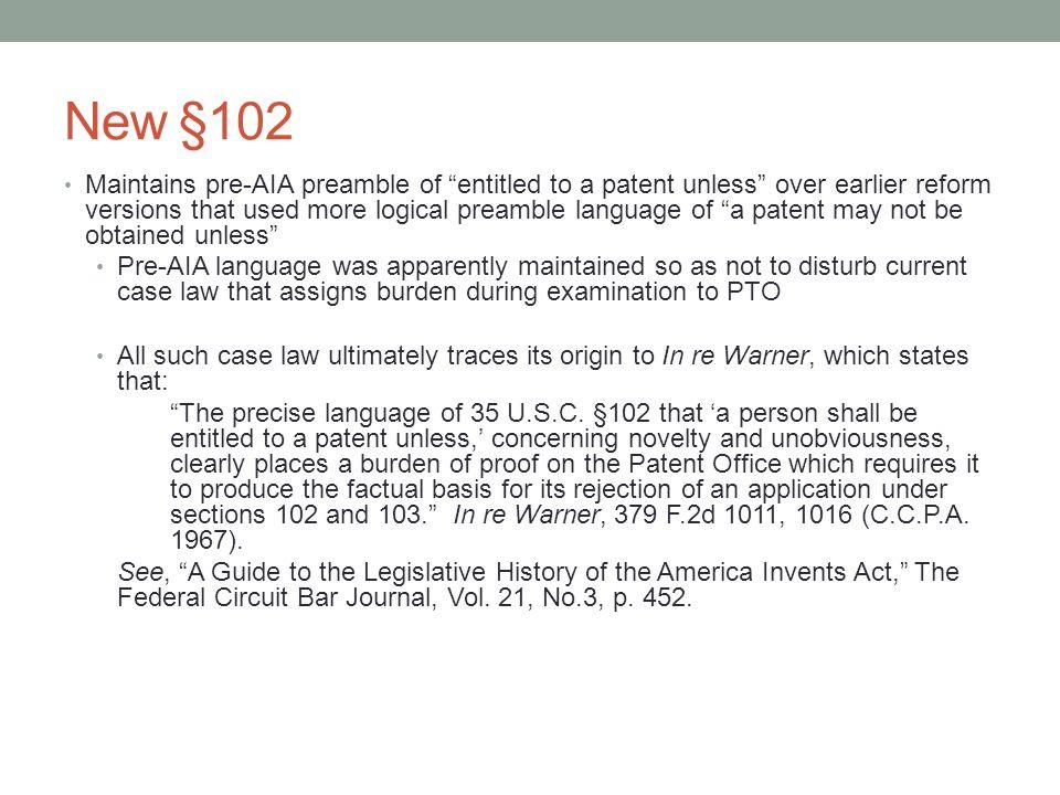 New §102
