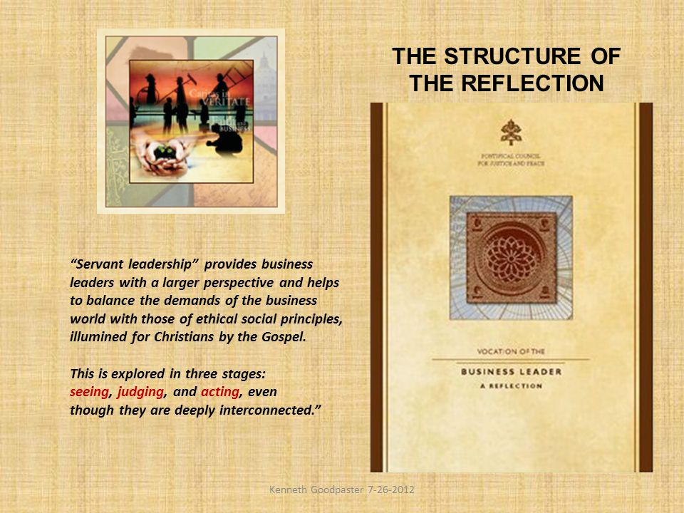 THE STRUCTURE OF THE REFLECTION