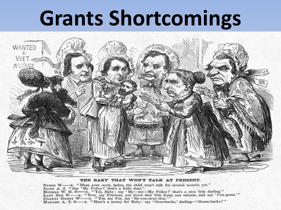 Grants Shortcomings
