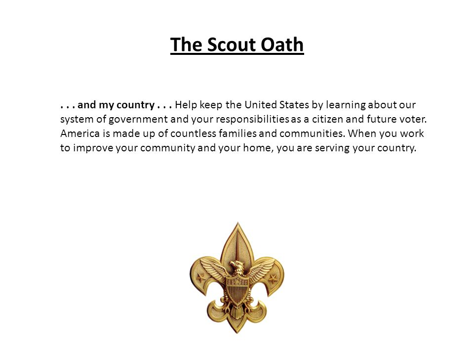 The Scout Oath