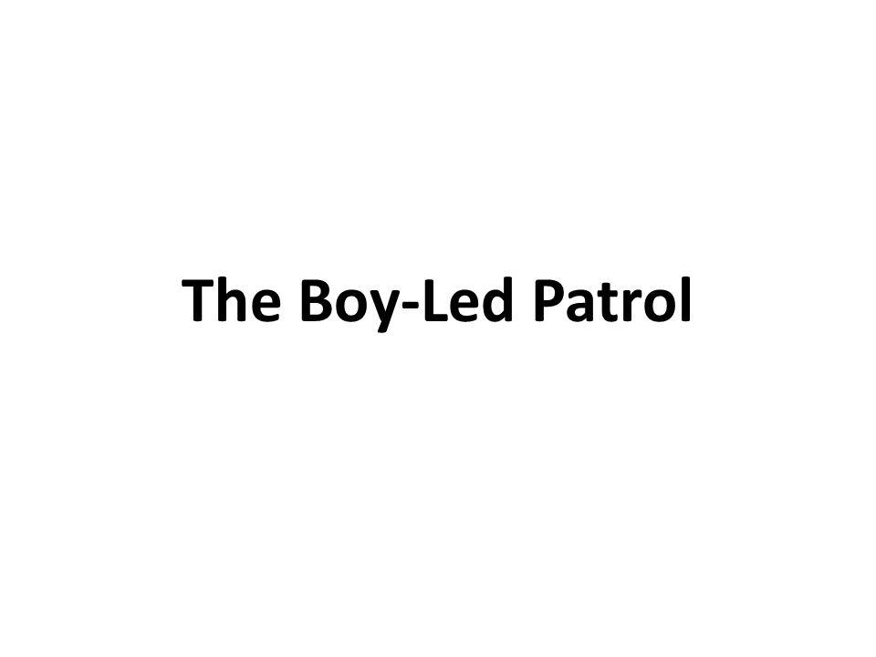 The Boy-Led Patrol