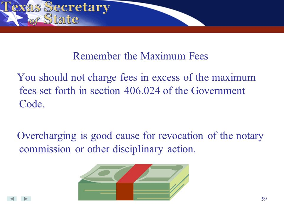 Remember the Maximum Fees