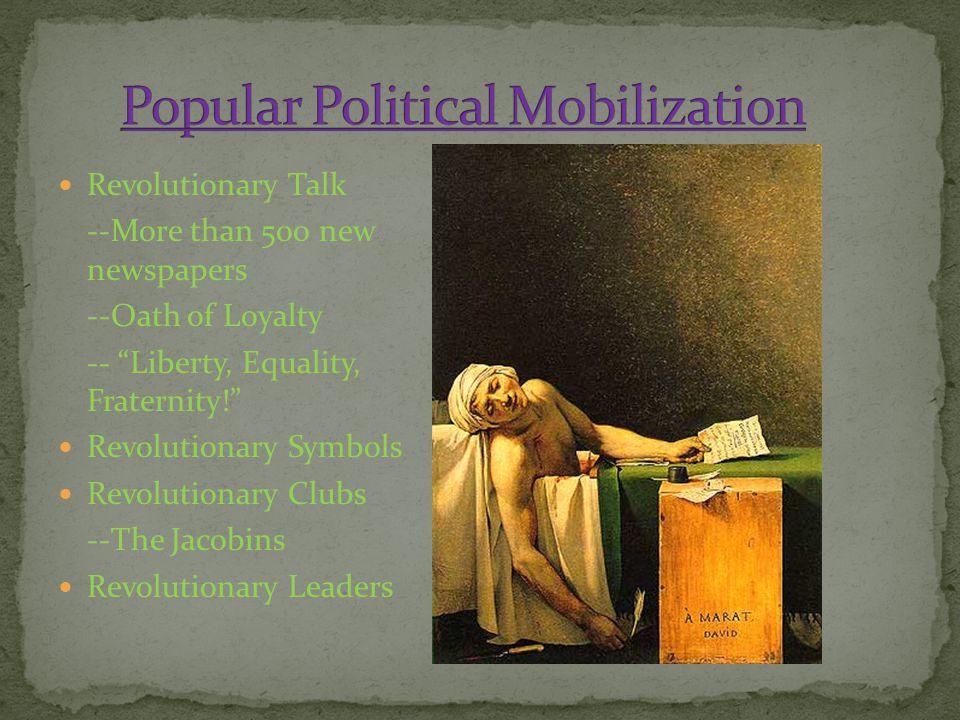 Popular Political Mobilization