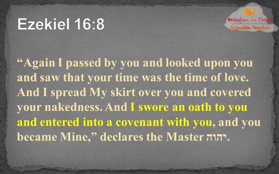 Ezekiel 16:8