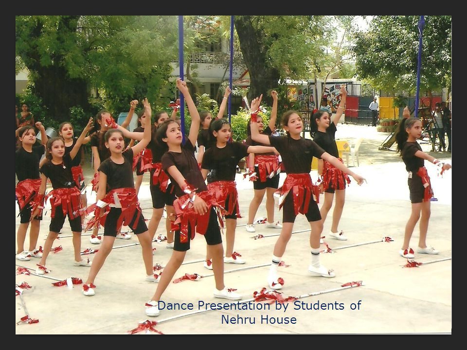 Dance Presentation by Students of Nehru House