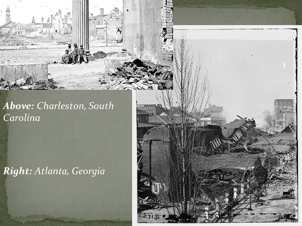 Above: Charleston, South Carolina