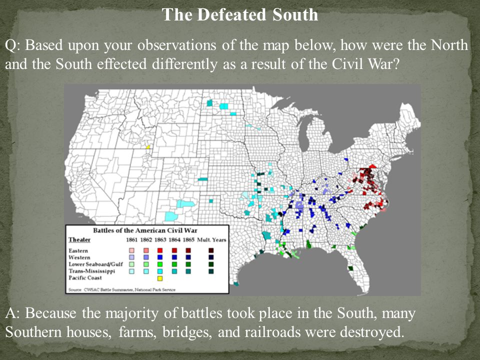 The Defeated South