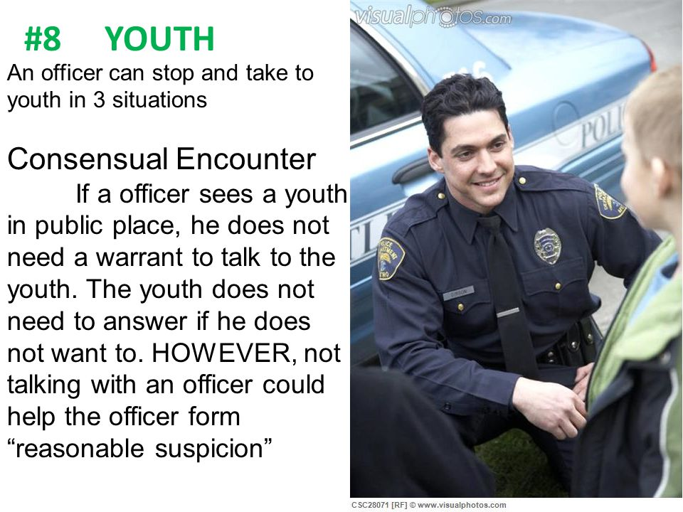 #8 YOUTH Consensual Encounter