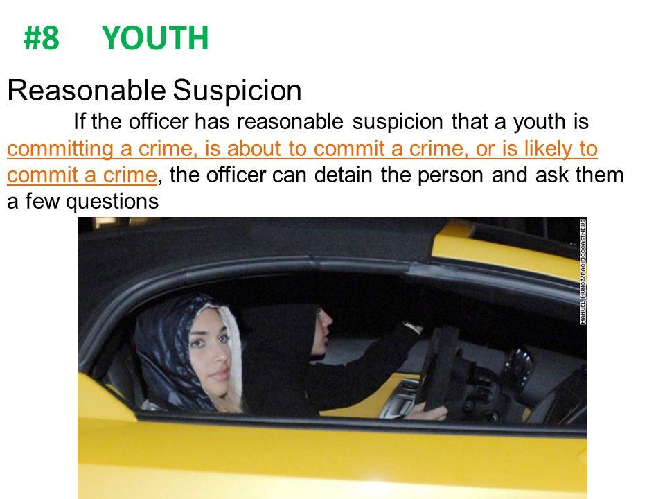 #8 YOUTH Reasonable Suspicion