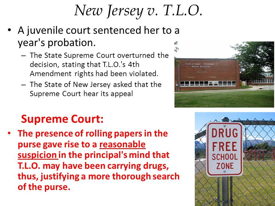 New Jersey v. T.L.O. Supreme Court: