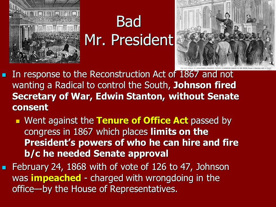 Bad Mr. President