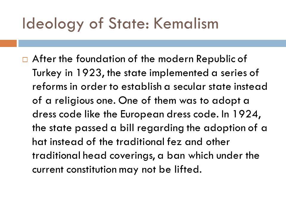 Ideology of State: Kemalism