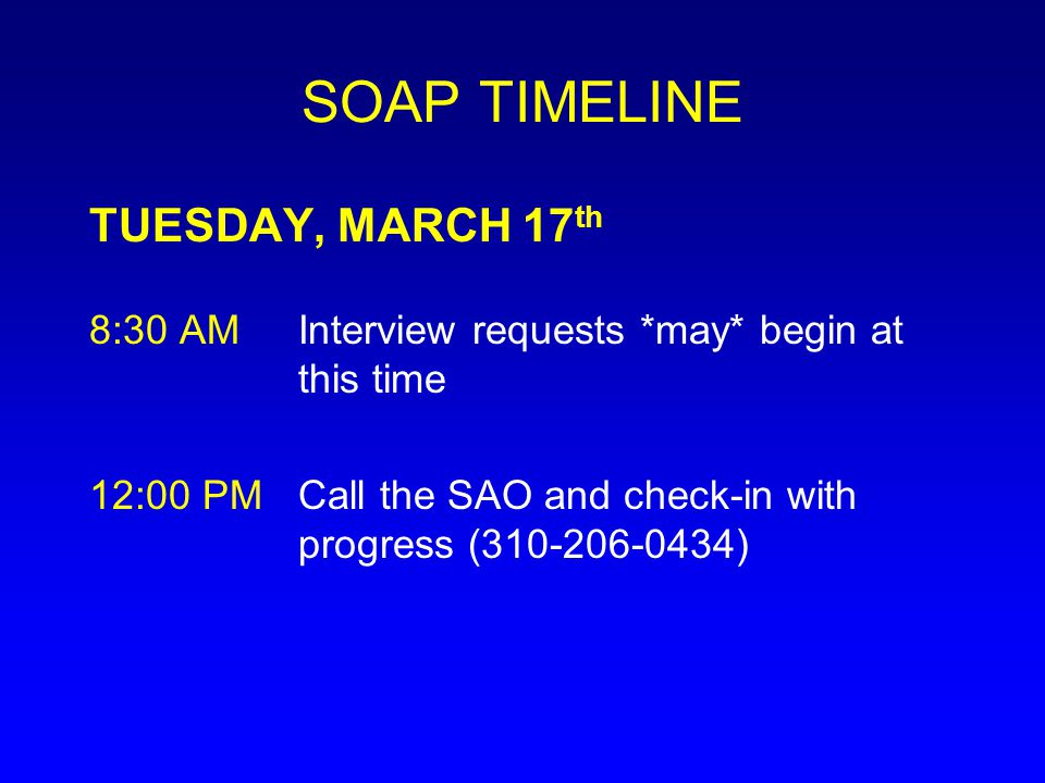 SOAP TIMELINE TUESDAY, MARCH 17th