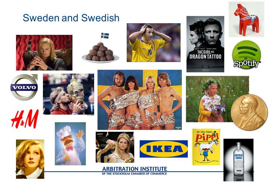 Sweden and Swedish