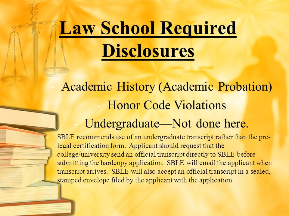 Law School Required Disclosures
