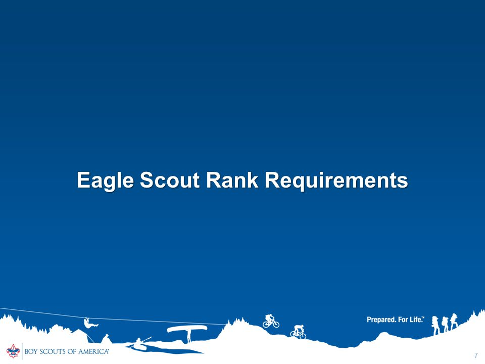 Eagle Scout Rank Requirements