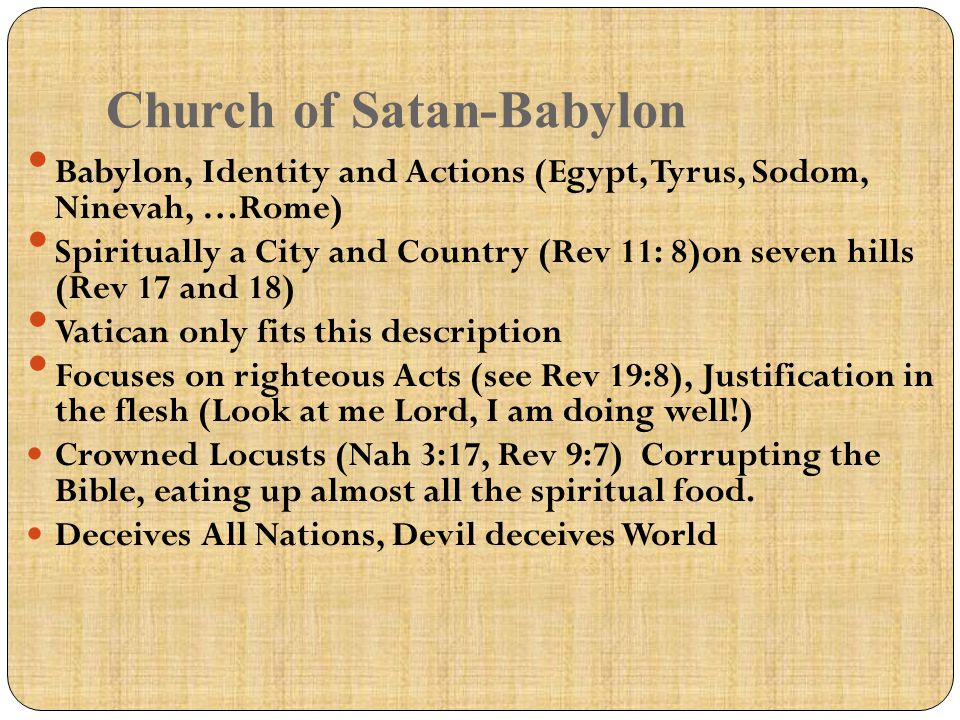 Church of Satan-Babylon