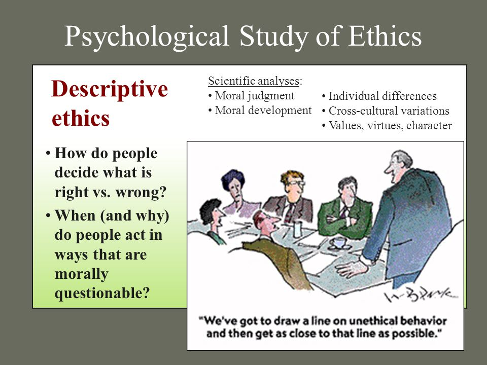 ethics the study of right and Ethics is a branch of philosophy that, at its core, seeks to understand and to determine how human actions can be judged as right or wrong we may make ethical judgments, for example, based upon our own experience or.
