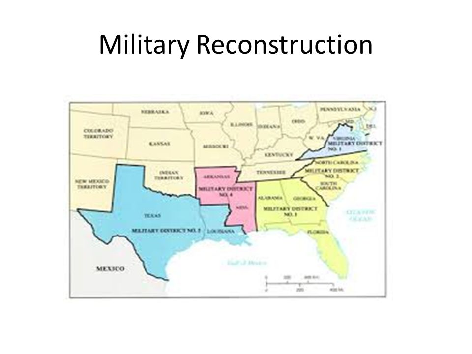 Military Reconstruction