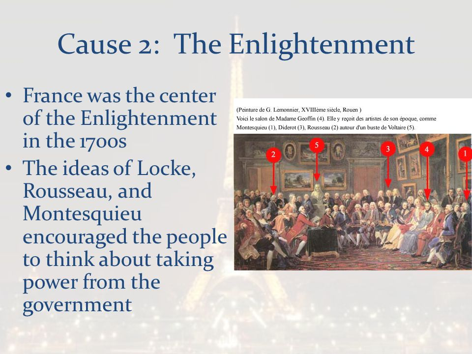 Cause 2: The Enlightenment