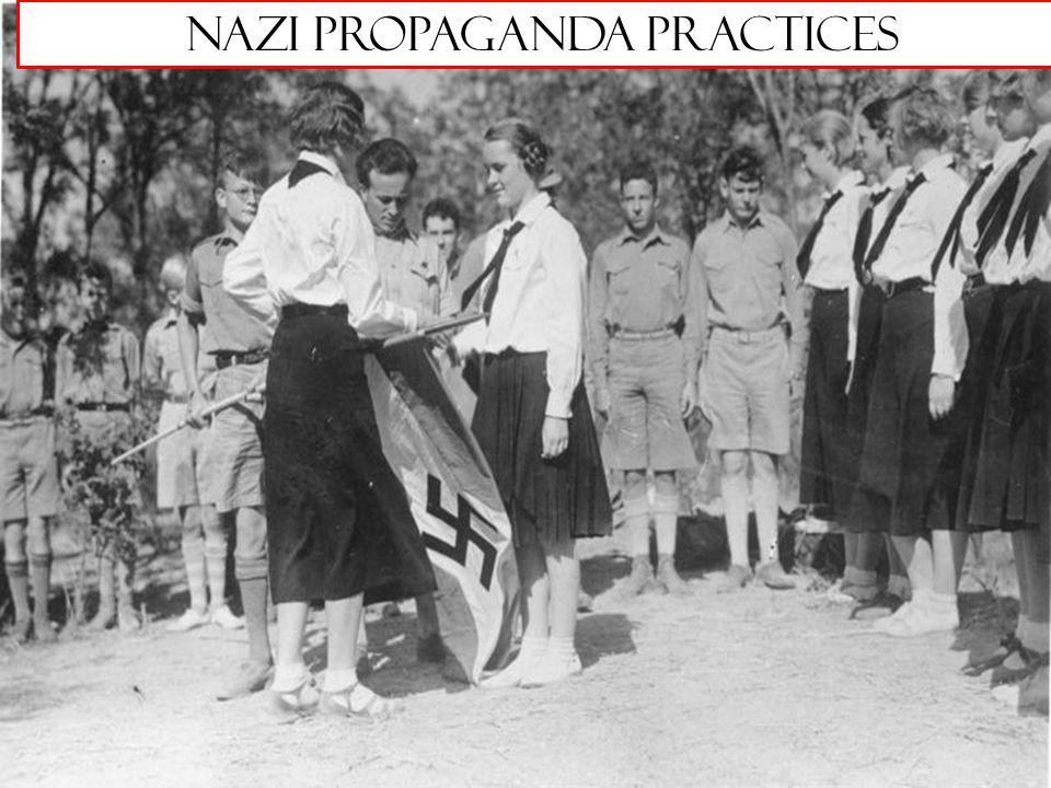 Nazi Propaganda Practices