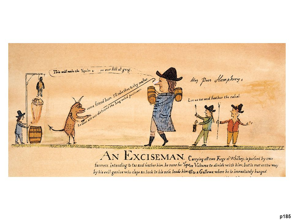 The Whiskey Boys The cartoonist clearly favored the Pennsylvania rebels who