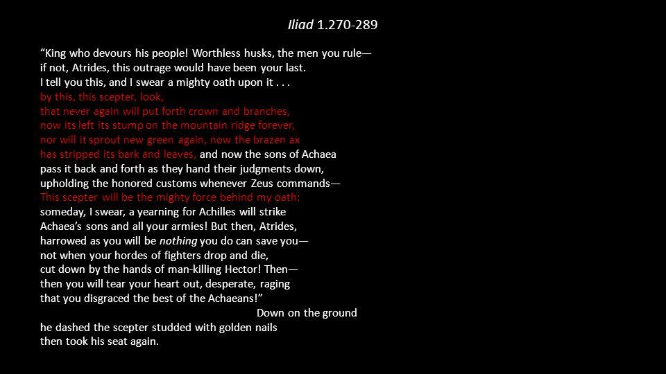 Iliad 1.270-289