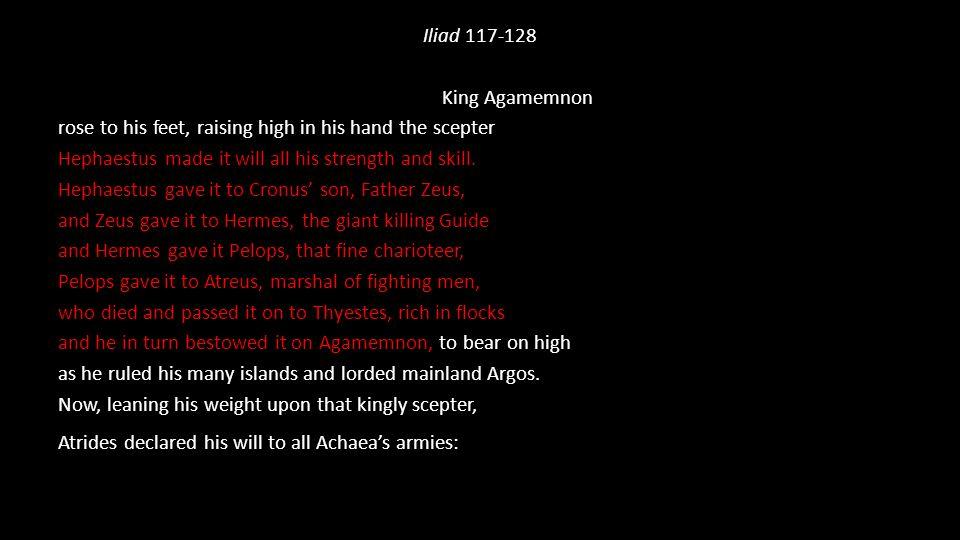 Iliad 117-128