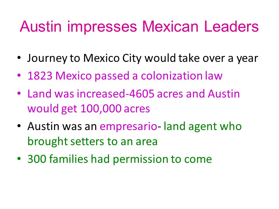 Austin impresses Mexican Leaders