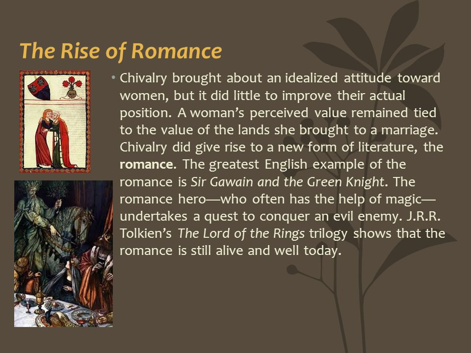 The Rise of Romance