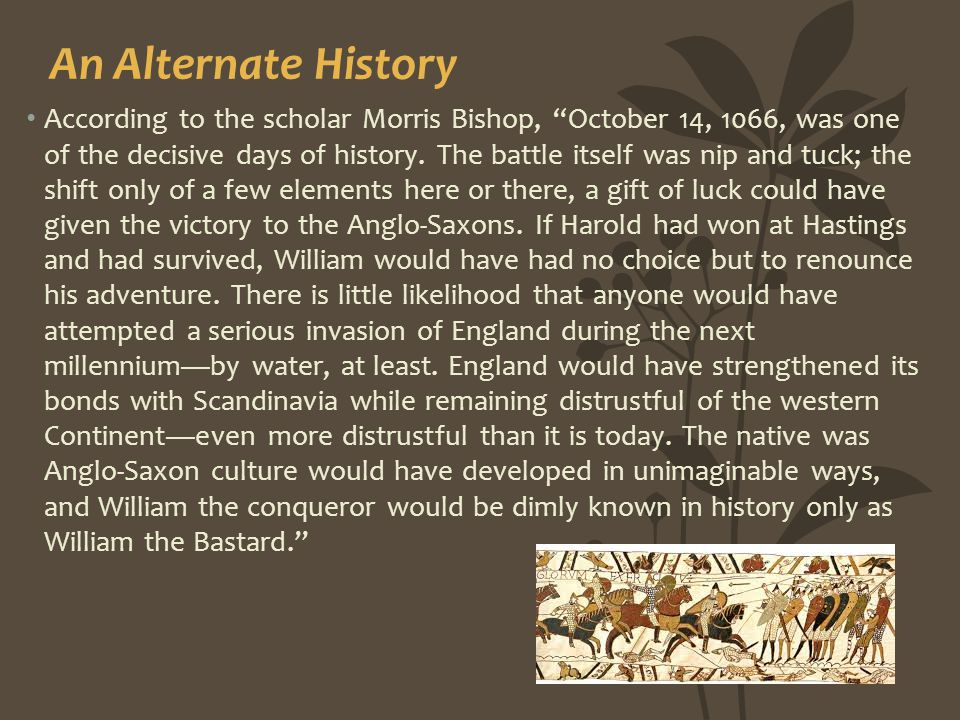 An Alternate History