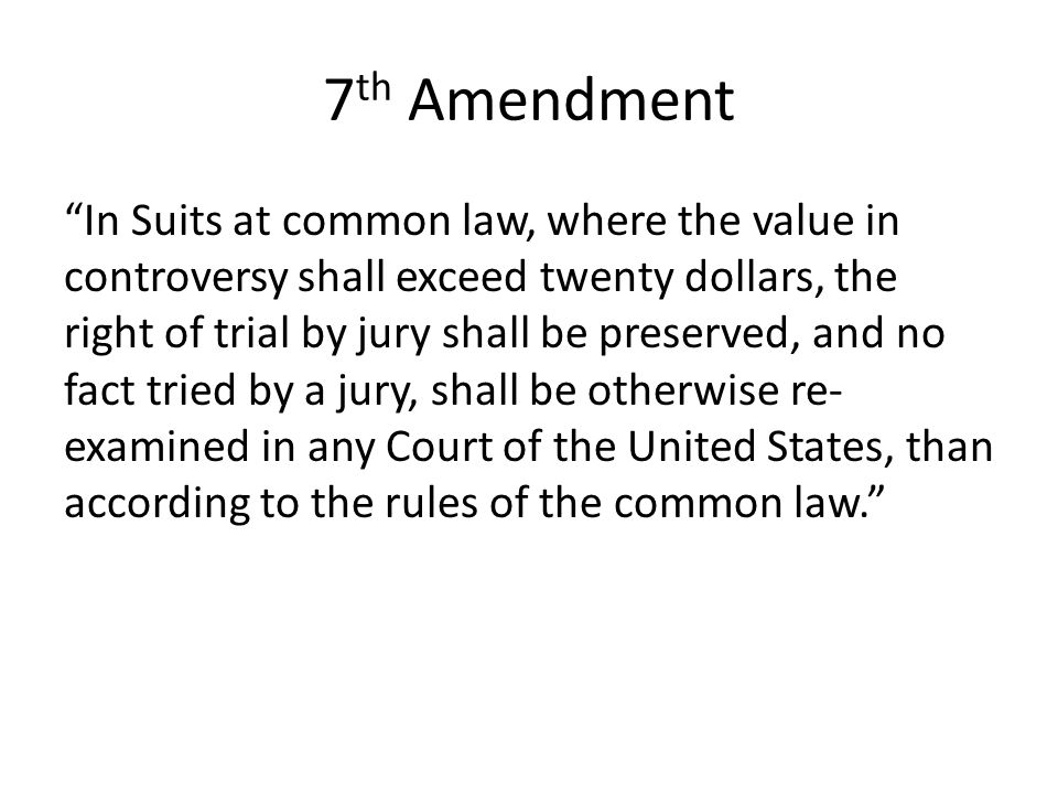 7th Amendment