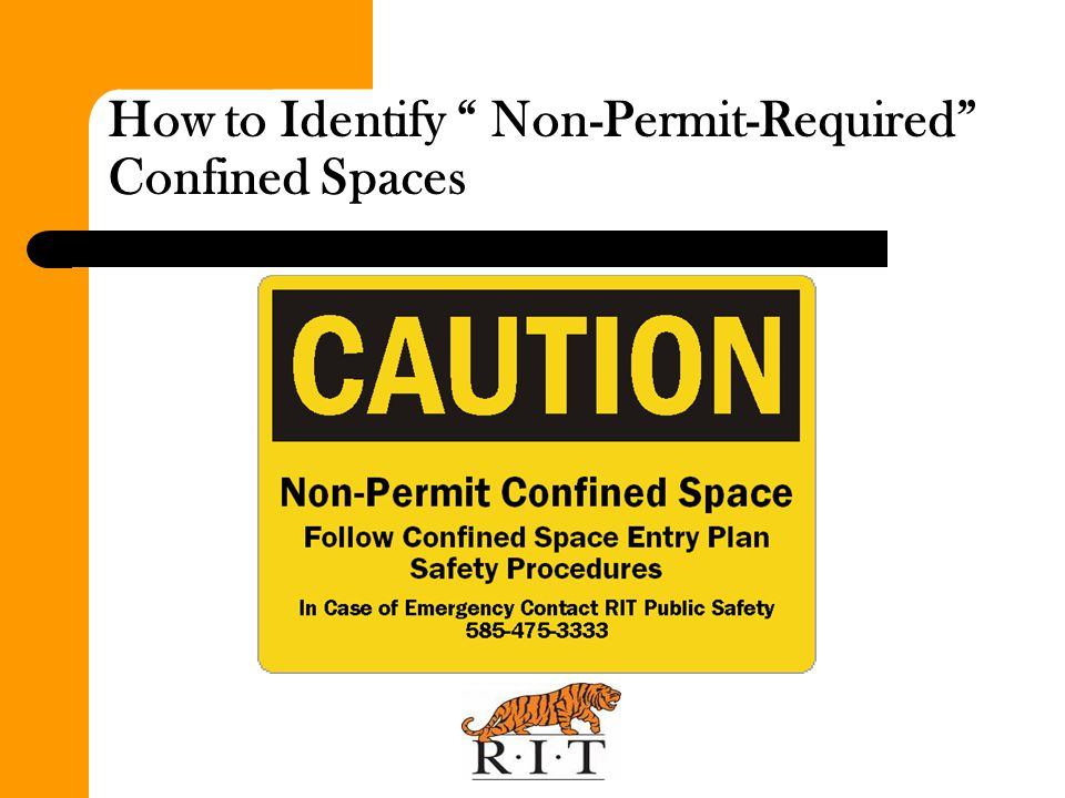 How to Identify Non-Permit-Required Confined Spaces