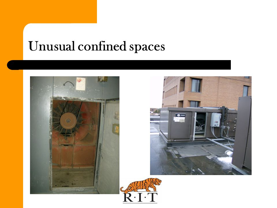 Unusual confined spaces
