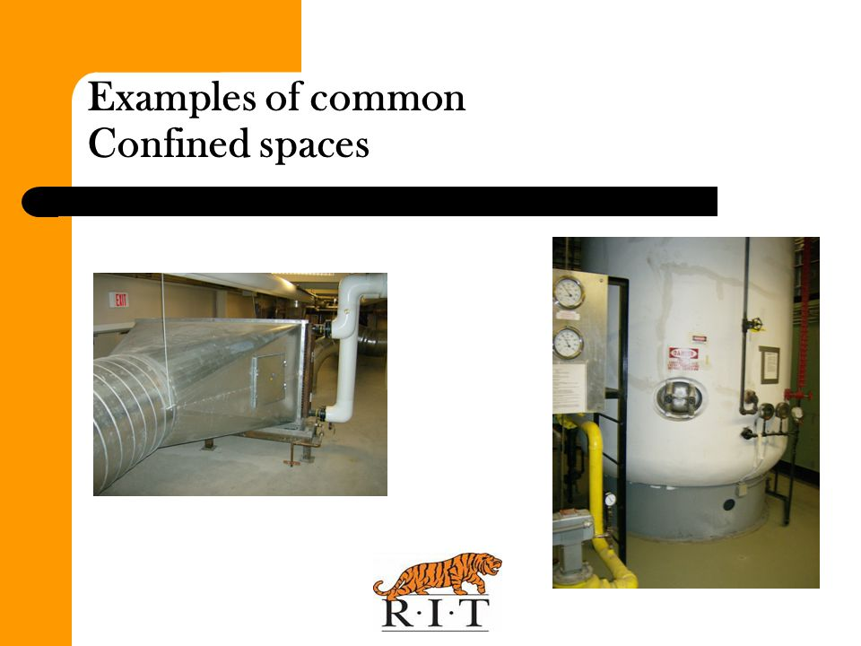 Examples of common Confined spaces