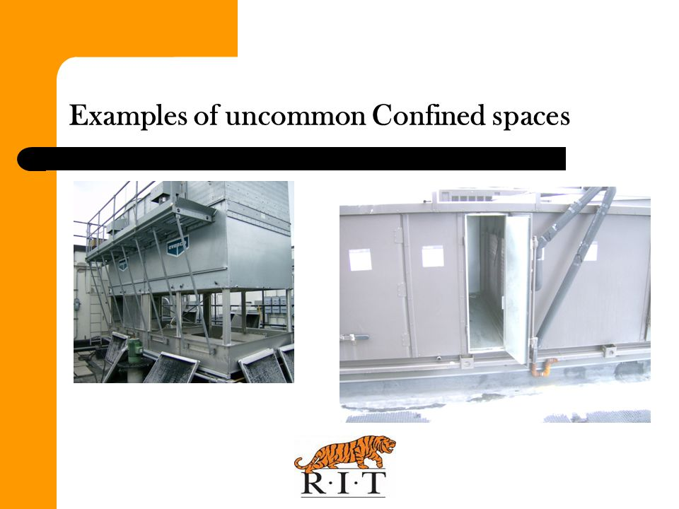 Examples of uncommon Confined spaces