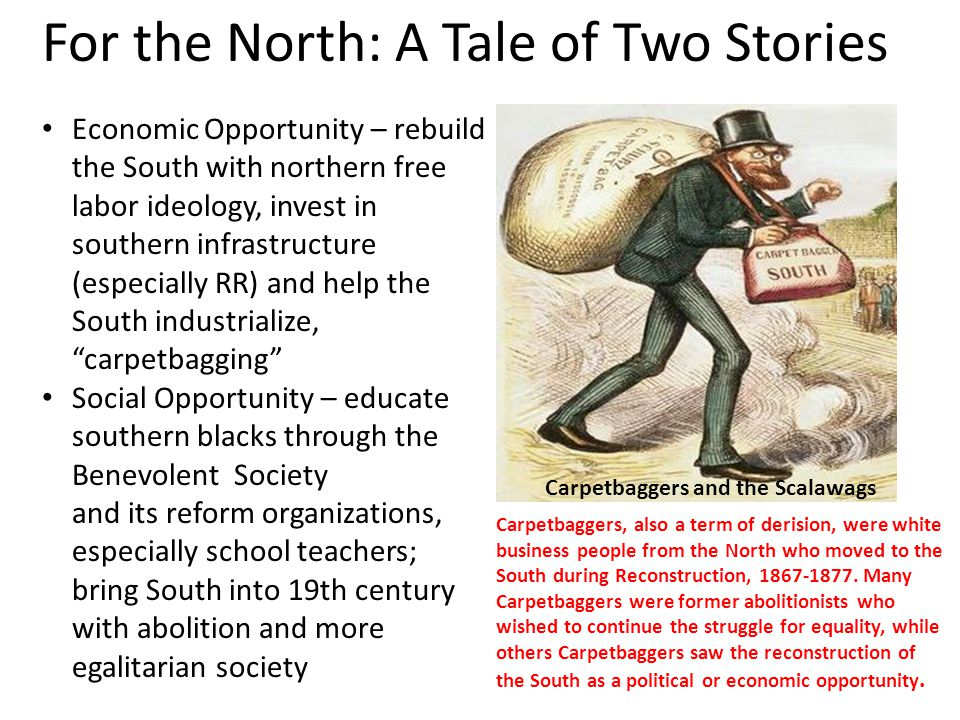 For the North: A Tale of Two Stories