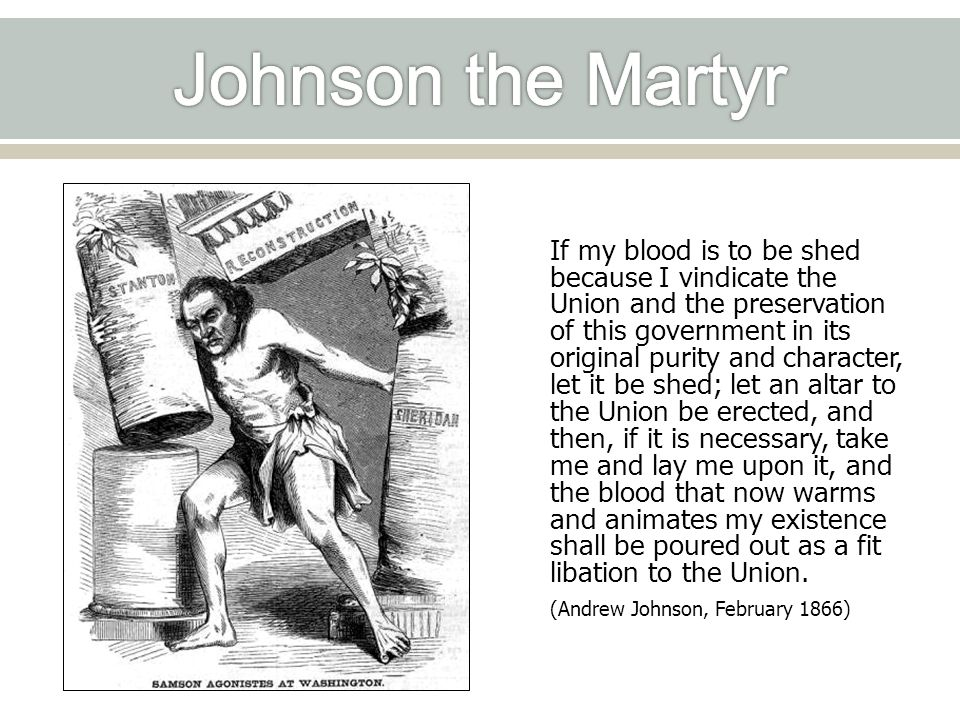 Johnson the Martyr