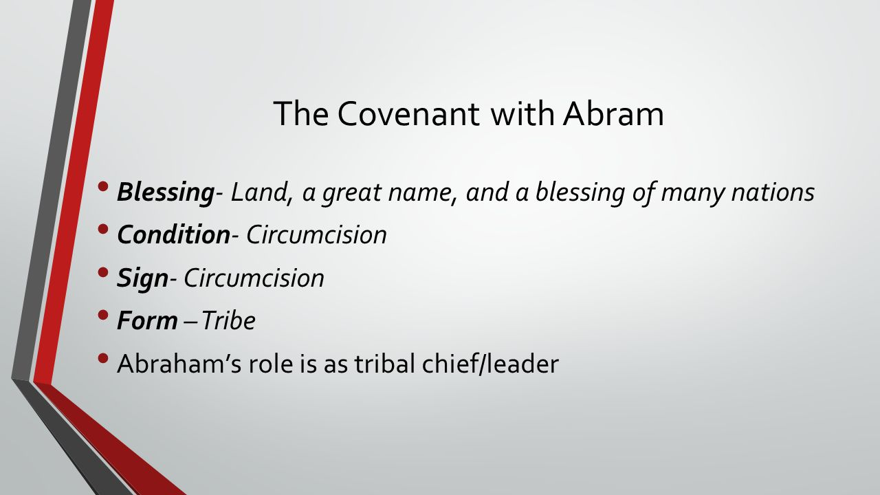 The Covenant with Abram