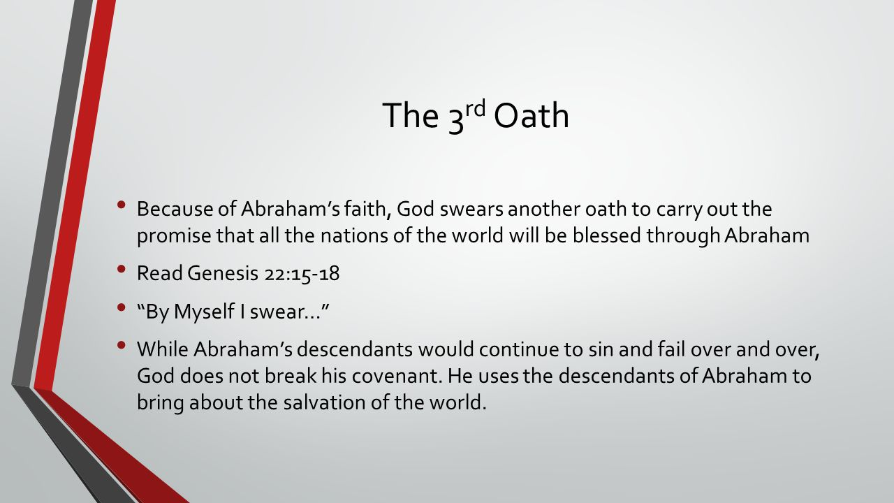 The 3rd Oath