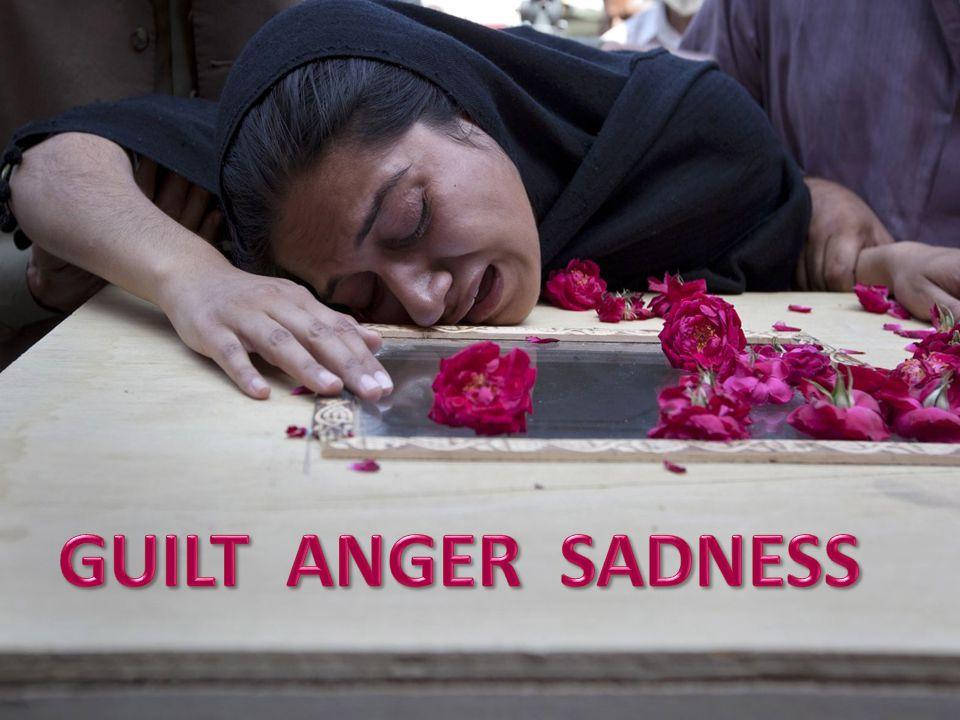 Story – Nursing Home. GUILT ANGER SADNESS