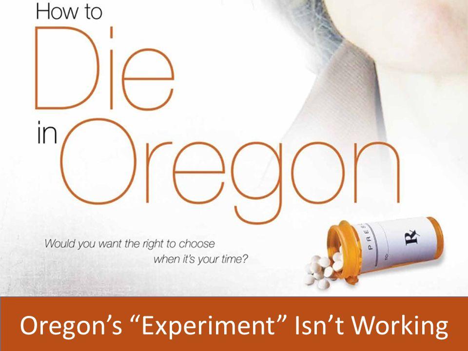 Oregon's Experiment Isn't Working
