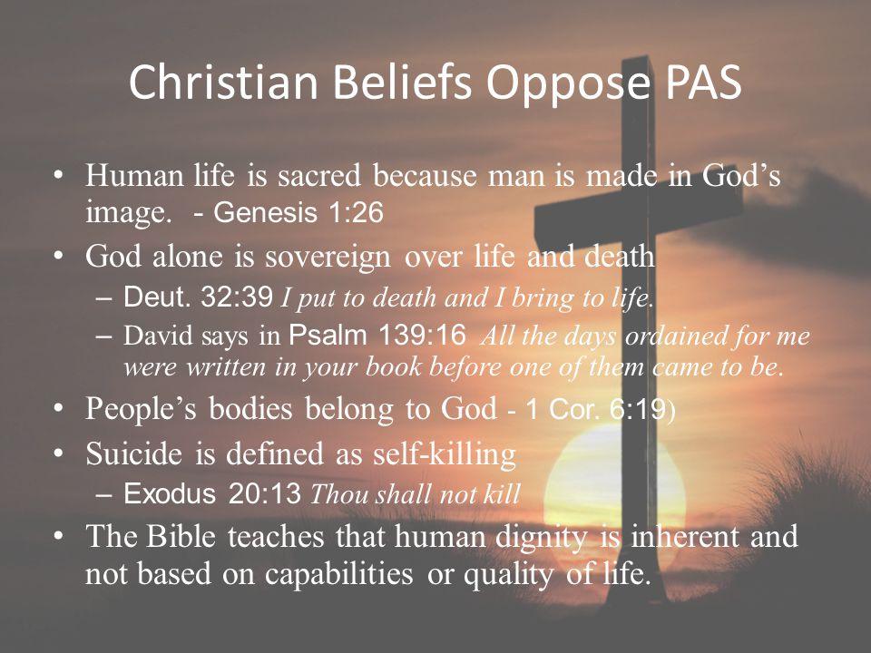 Christian Beliefs Oppose PAS