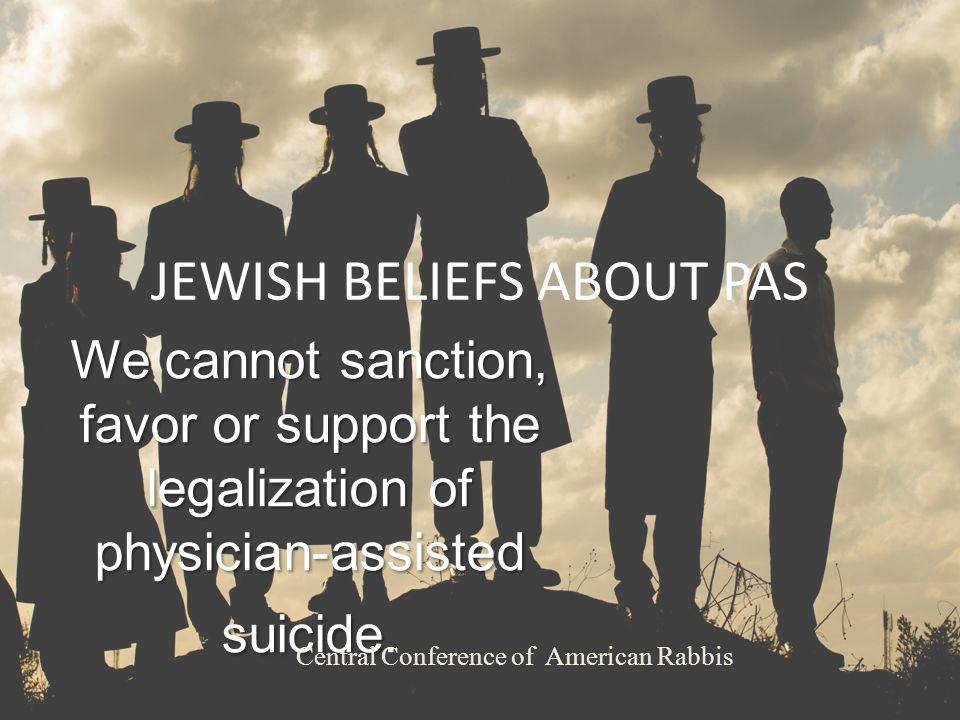 JEWISH BELIEFS ABOUT PAS