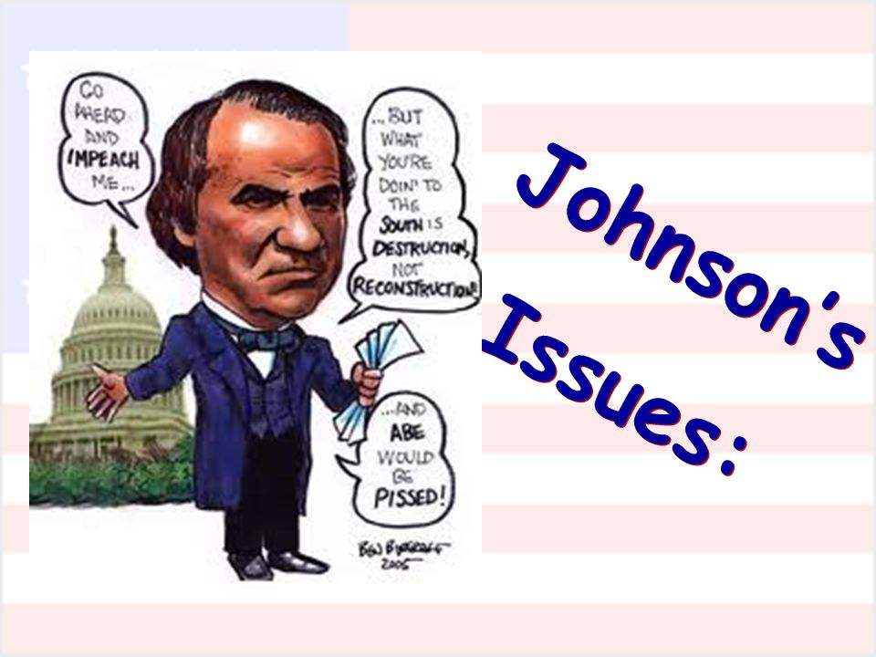 Johnson's Issues: