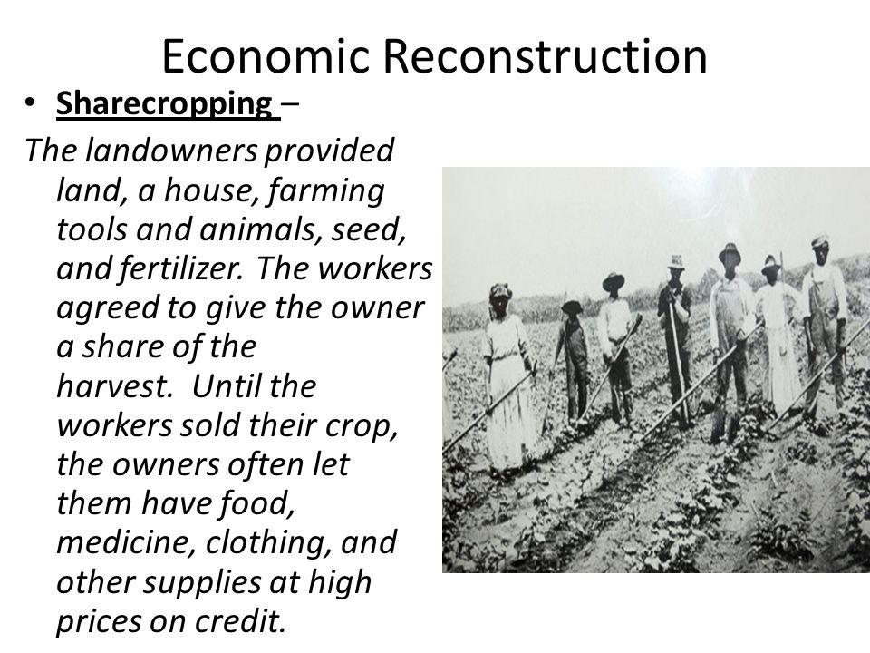 Economic Reconstruction
