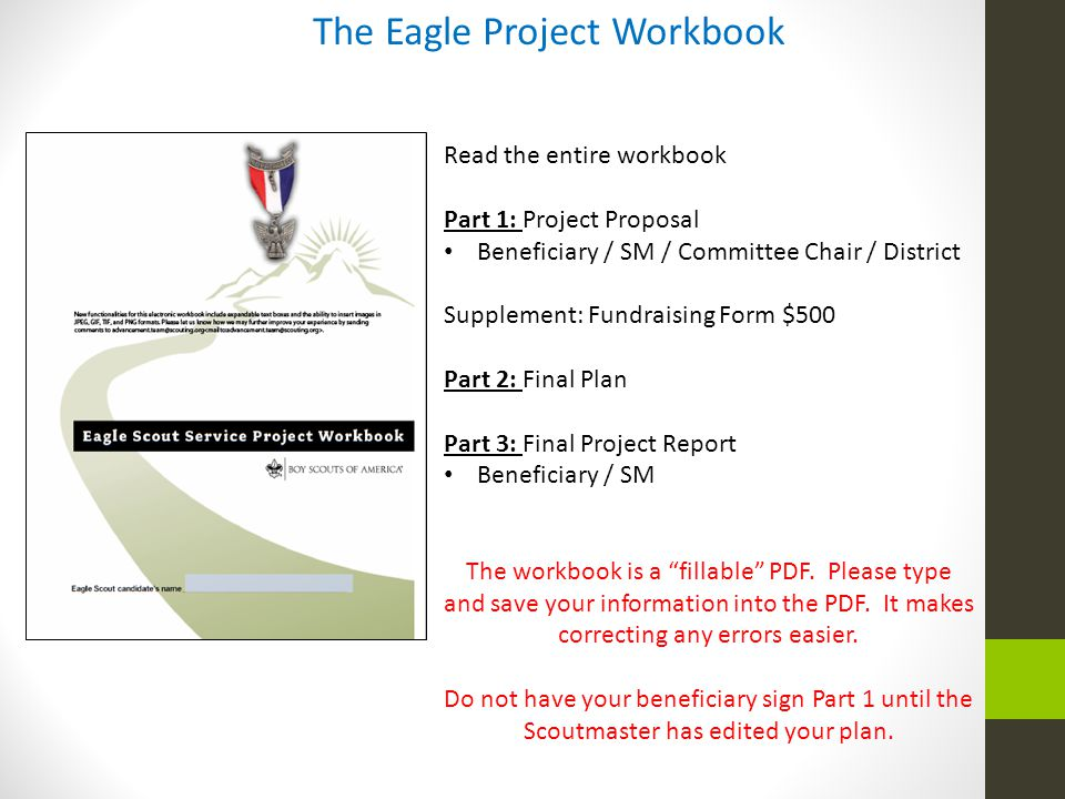 The Eagle Project Workbook