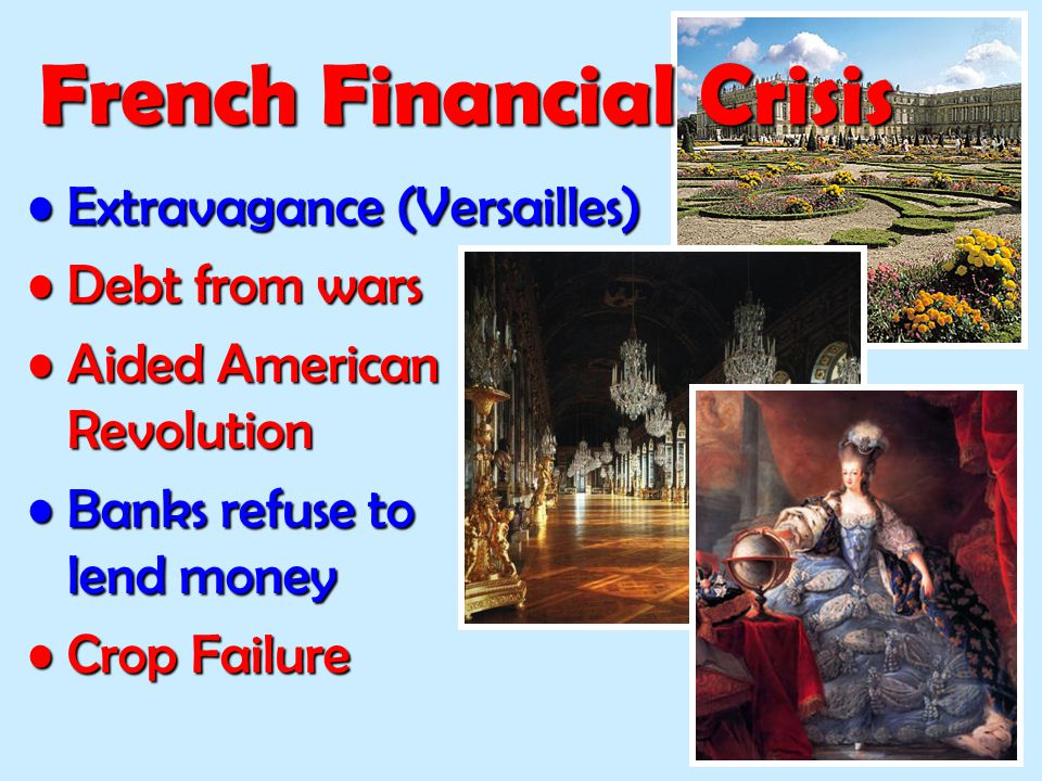 French Financial Crisis